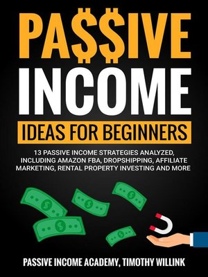 cover image of Passive Income Ideas for Beginners