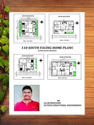 cover image of 110 South Facing Home Plans as per vastu shastra