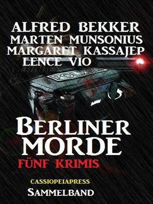 cover image of Berliner Morde