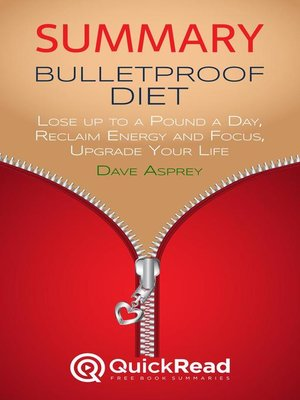 """cover image of Summary of """"Bulletproof Diet"""" by Dave Asprey"""