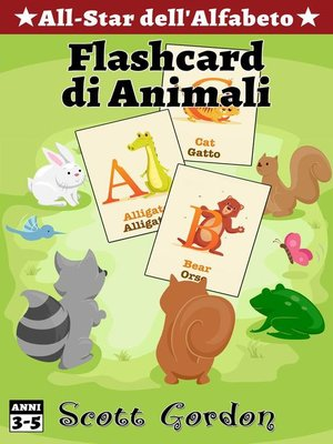 cover image of Flashcard di Animali