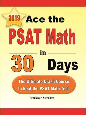 cover image of Ace the PSAT Math in 30 Days