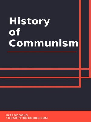 cover image of History of Communism