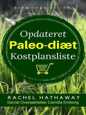cover image of Opdaterede Paleo-Diæts Kostplanslist--Madliste