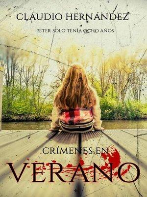 cover image of Crímenes en verano