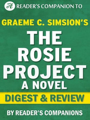 cover image of The Rosie Project by Graeme Simsion | Digest & Review