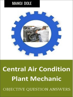 cover image of Central Air Condition Plant Mechanic