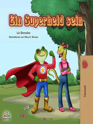 cover image of Ein Superheld sein
