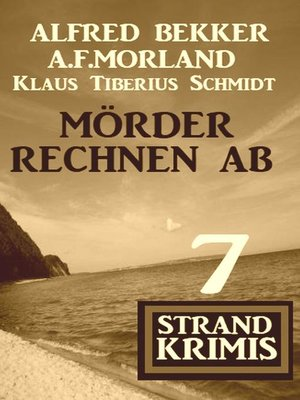 cover image of Mörder rechnen ab