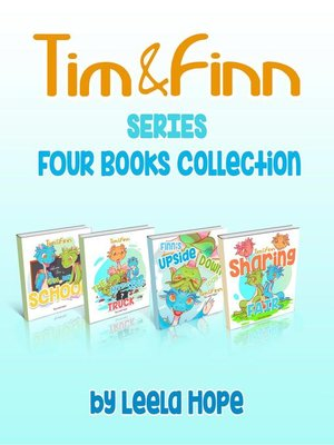 cover image of Tim and Finn the Dragon Twins Series Four-Book Collection