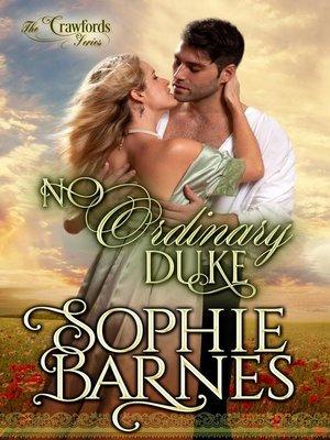 cover image of No Ordinary Duke