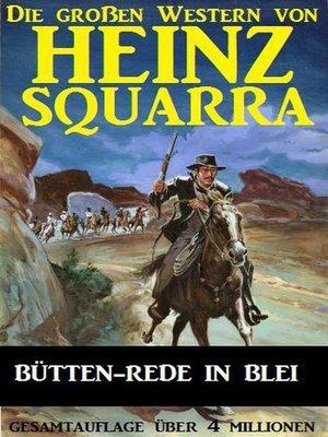 cover image of Bütten-Rede in Blei