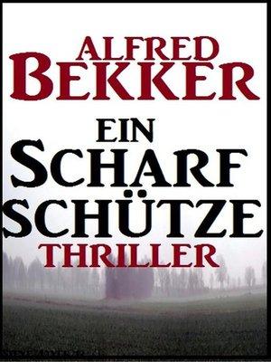 cover image of Ein Scharfschütze