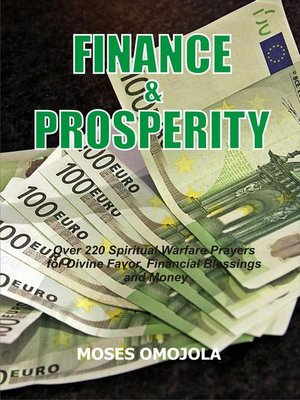 cover image of Finance & Prosperity