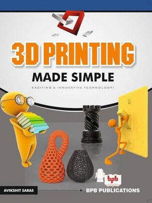 cover image of 3D Printing Made Simple