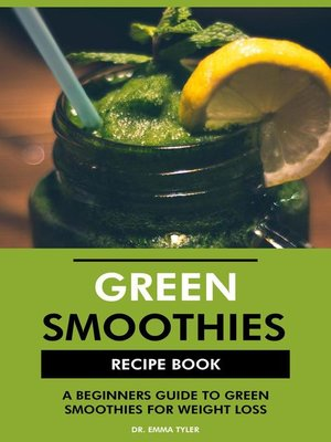 cover image of Green Smoothies Recipe Book