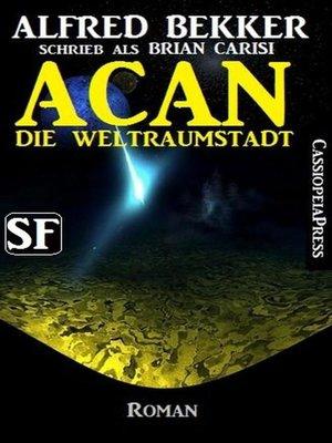 cover image of Brian Carisi SF-Roman