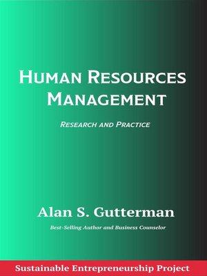 cover image of Human Resources Management