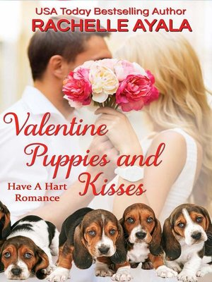 cover image of Valentine Puppies and Kisses