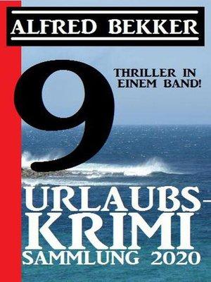 cover image of Urlaubs-Krimi Sammlung 2020