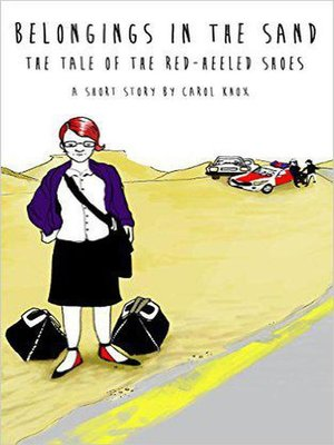 cover image of Belongings in the Sand. the Tale of the Red-Heeled Shoes