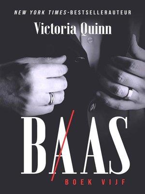 cover image of Baas Boek vijf