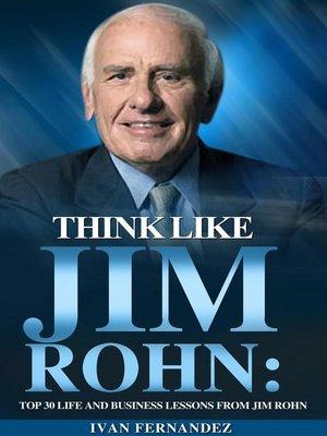 cover image of Think Like Jim Rohn