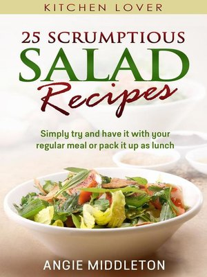 cover image of 25 Scrumptious Salad Recipes