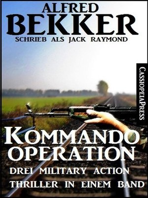 cover image of Drei Military Action Thriller--Kommando-Operation
