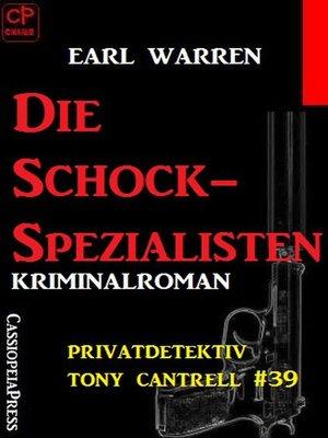 cover image of Die Schock-Spezialisten