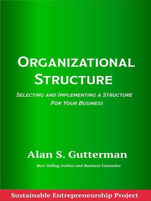 cover image of Organizational Structure