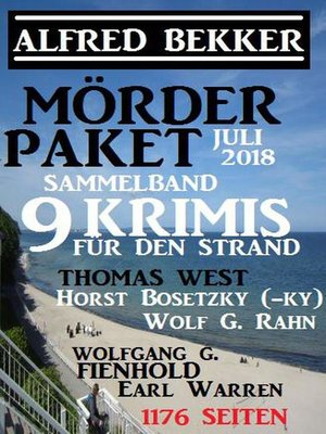 cover image of Mörder-Paket Juli 2018