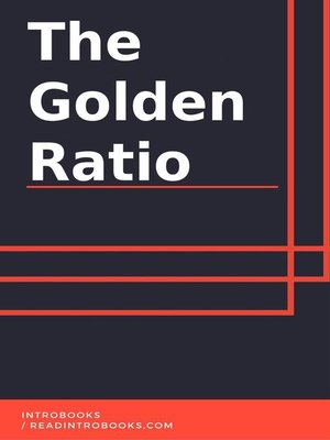 cover image of The Golden Ratio