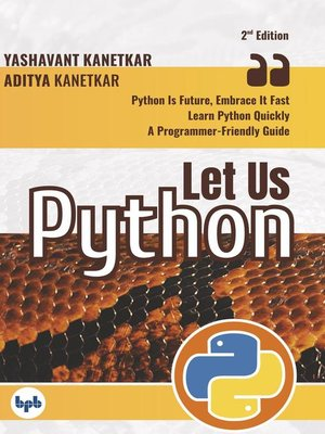 cover image of Let Us Python ()