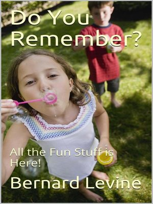 cover image of Do You Remember?