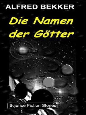 cover image of Die Namen der Götter