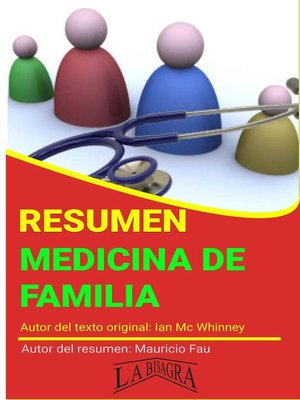 cover image of Resumen de Medicina de Familia