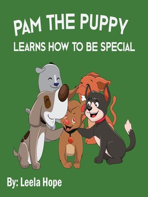 cover image of Pam the Puppy Learns How to be Special