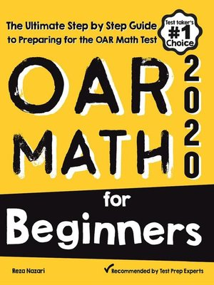 cover image of OAR Math for Beginners