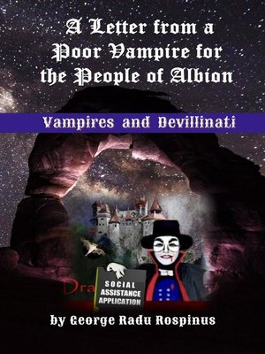 cover image of A Letter from a Poor Vampire for the People of Albion