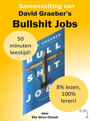 cover image of Samenvatting van David Graeber's Bullshit jobs