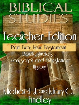 cover image of Biblical Studies Teacher Edition Part Two