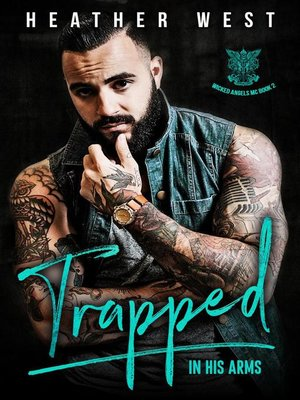 cover image of Trapped in His Arms