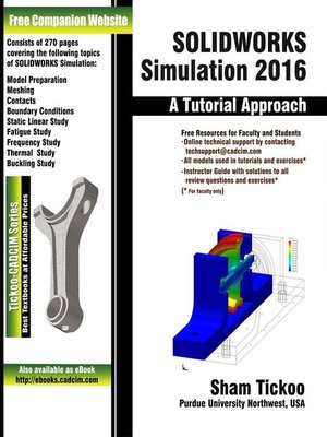 cover image of SOLIDWORKS Simulation 2016