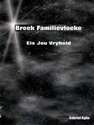 cover image of Breek familievloeke