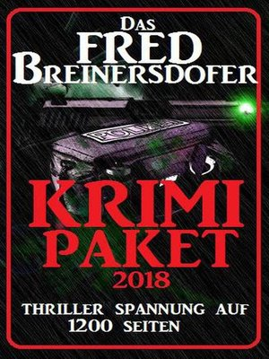 cover image of Das Fred Breinersdorfer Krimi Paket 2018