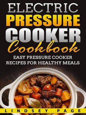 cover image of Electric Pressure Cooker Cookbook
