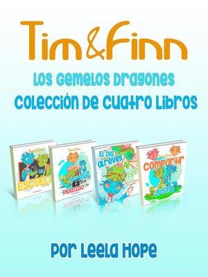 cover image of Tim y Finn, los Gemelos Dragones--Colección De Cuatro Libros