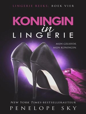cover image of Koningin in lingerie