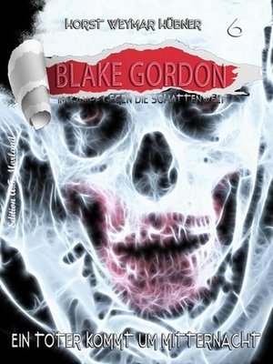 cover image of Blake Gordon #6